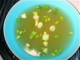 garlic broth